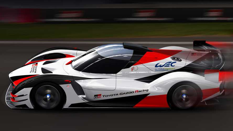 Toyota Previews Hypercar For 2020/21 World Endurance Championship
