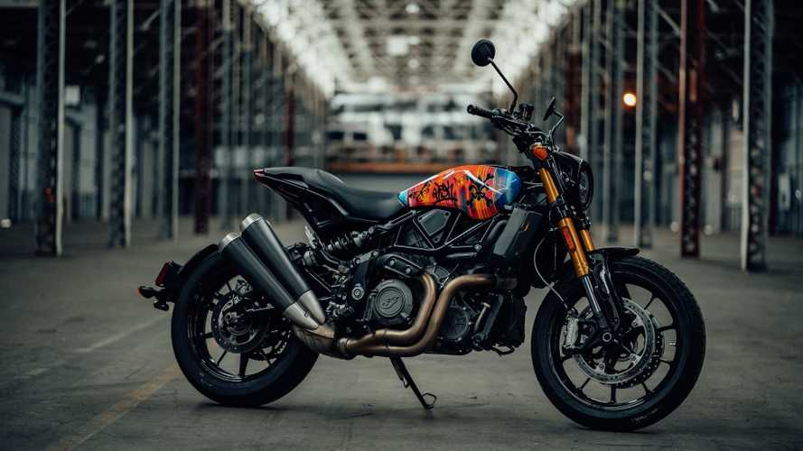 Indian FTR 1200, al Wheels & Waves le limited edition Artist Series