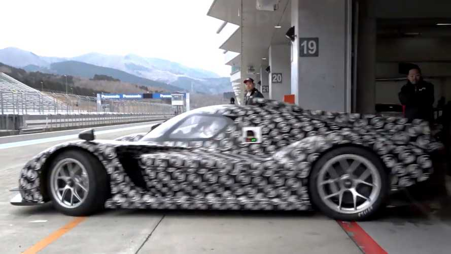 Toyota GR Super Sport Hypercar Prototype Teased On Track