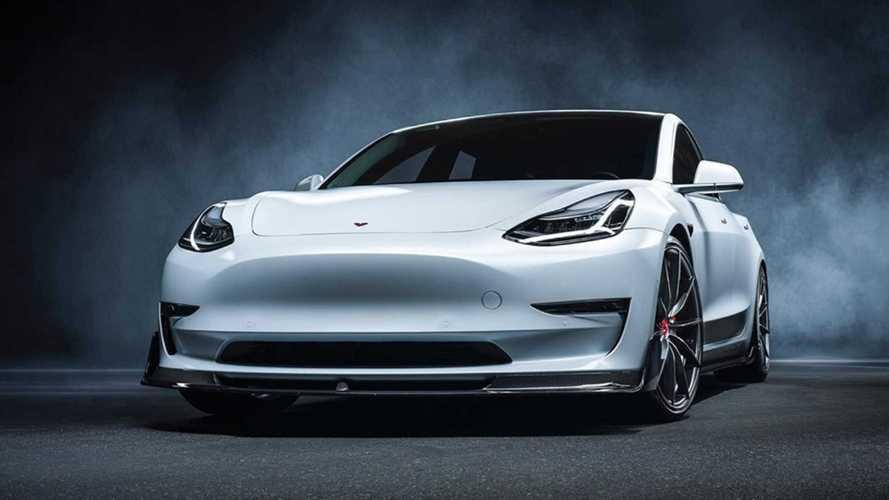 Tesla Model 3, più cattiva con il kit Vorsteiner Volta