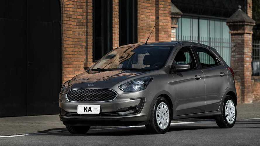 Ford convoca Ka, Ka Sedan e EcoSport por falha no banco dianteiro