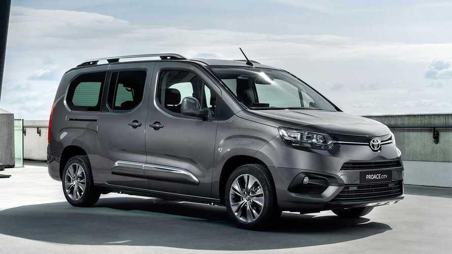 Toyota dévoile le ProAce City Verso, un clone du Berlingo