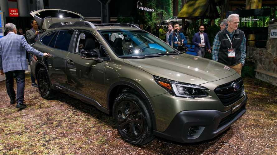 2020 Subaru Outback at the New York Auto Show | Motor1.com ...