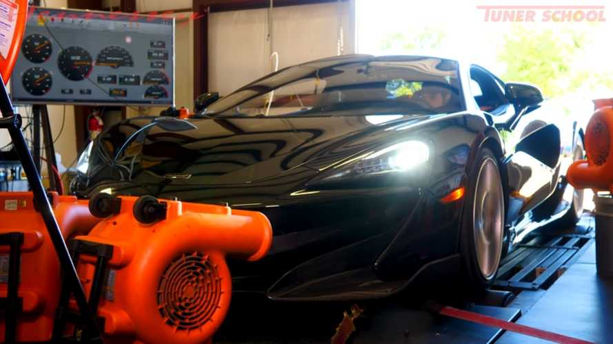 McLaren 600LT Hits Dyno To Reveal Low Drivertrain Power Loss