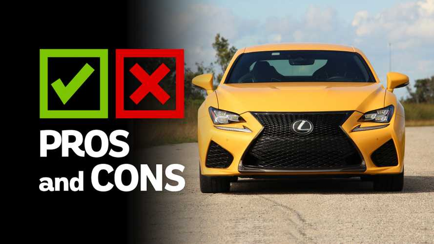 2018 Lexus RC F: Pros And Cons