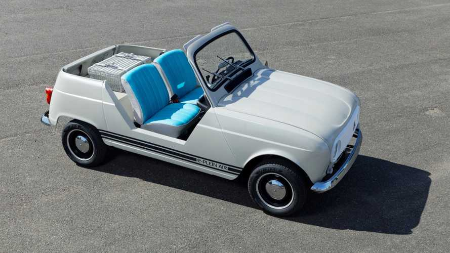 Renault e-Plein Air - Une 4L de plage à moteur de Twizy