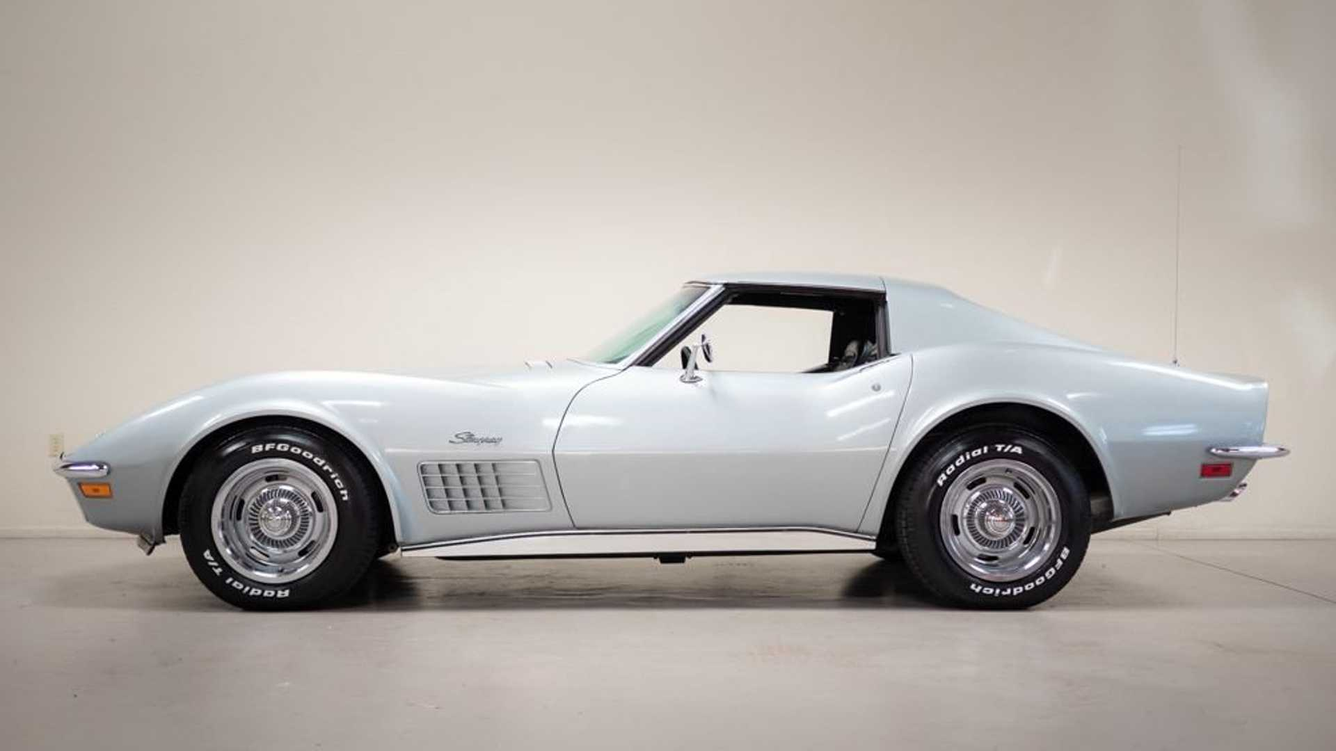 "[""1971 Chevrolet Corvette With Just 6k Miles""]"