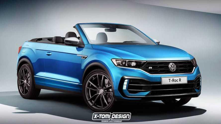 Volkswagen T-Roc R Cabrio, render de un SUV potente y lúdico