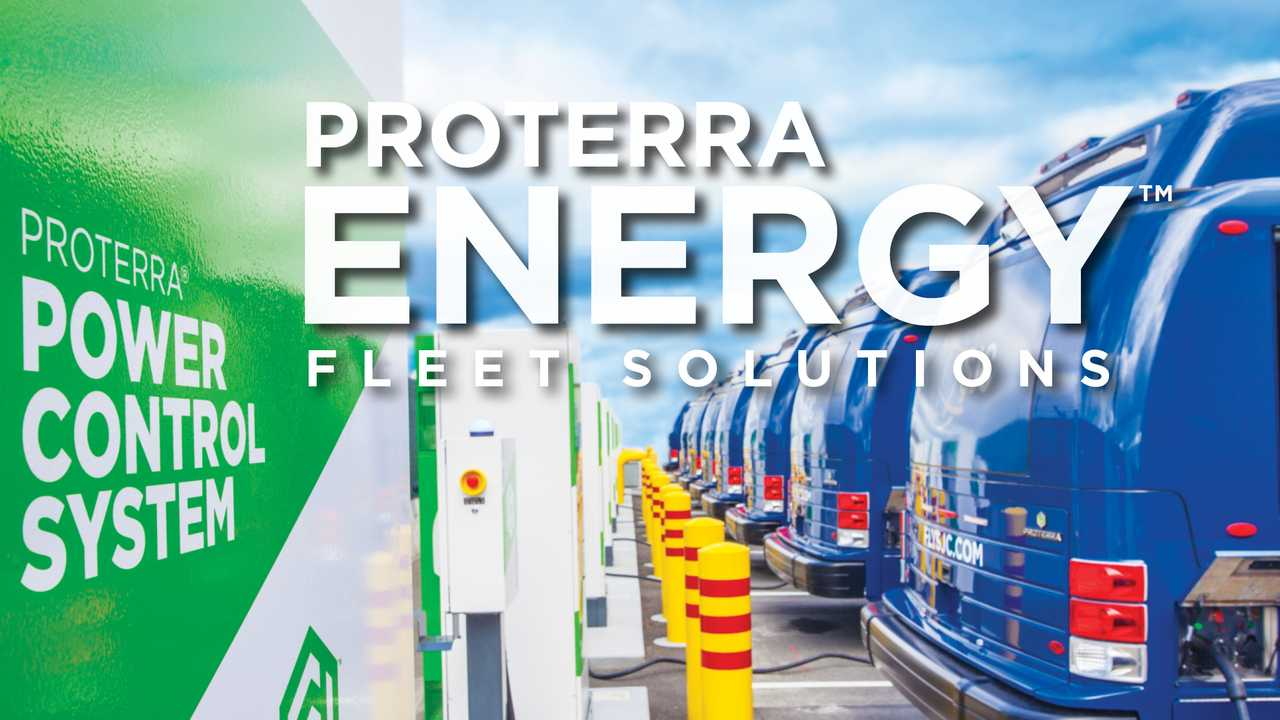 Proterra Energy fleet solutions