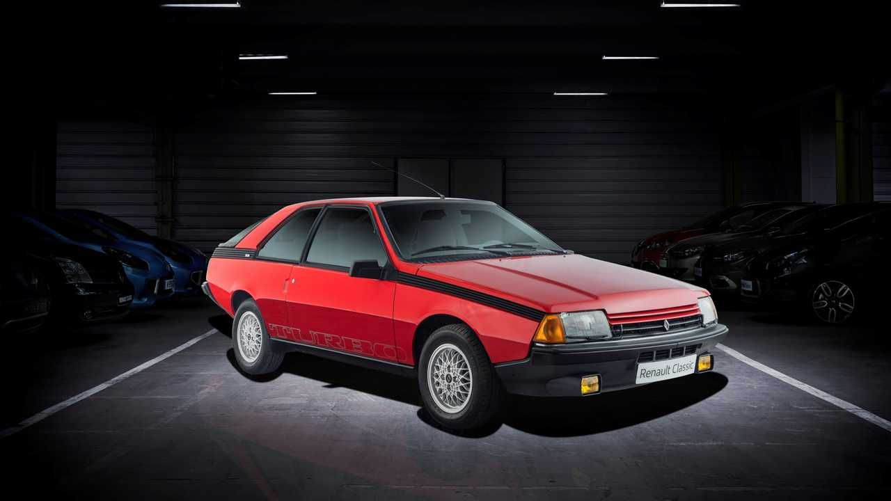 Renault Fuego Turbo - 1983 г