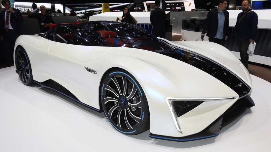 Techrules Ren is road-going fighter plane with 1,287-hp turbine-hybrid
