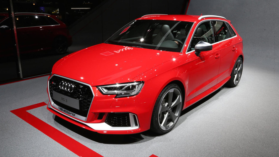 Facelifted Audi RS3 brings its boot to Geneva, starts at €54,600