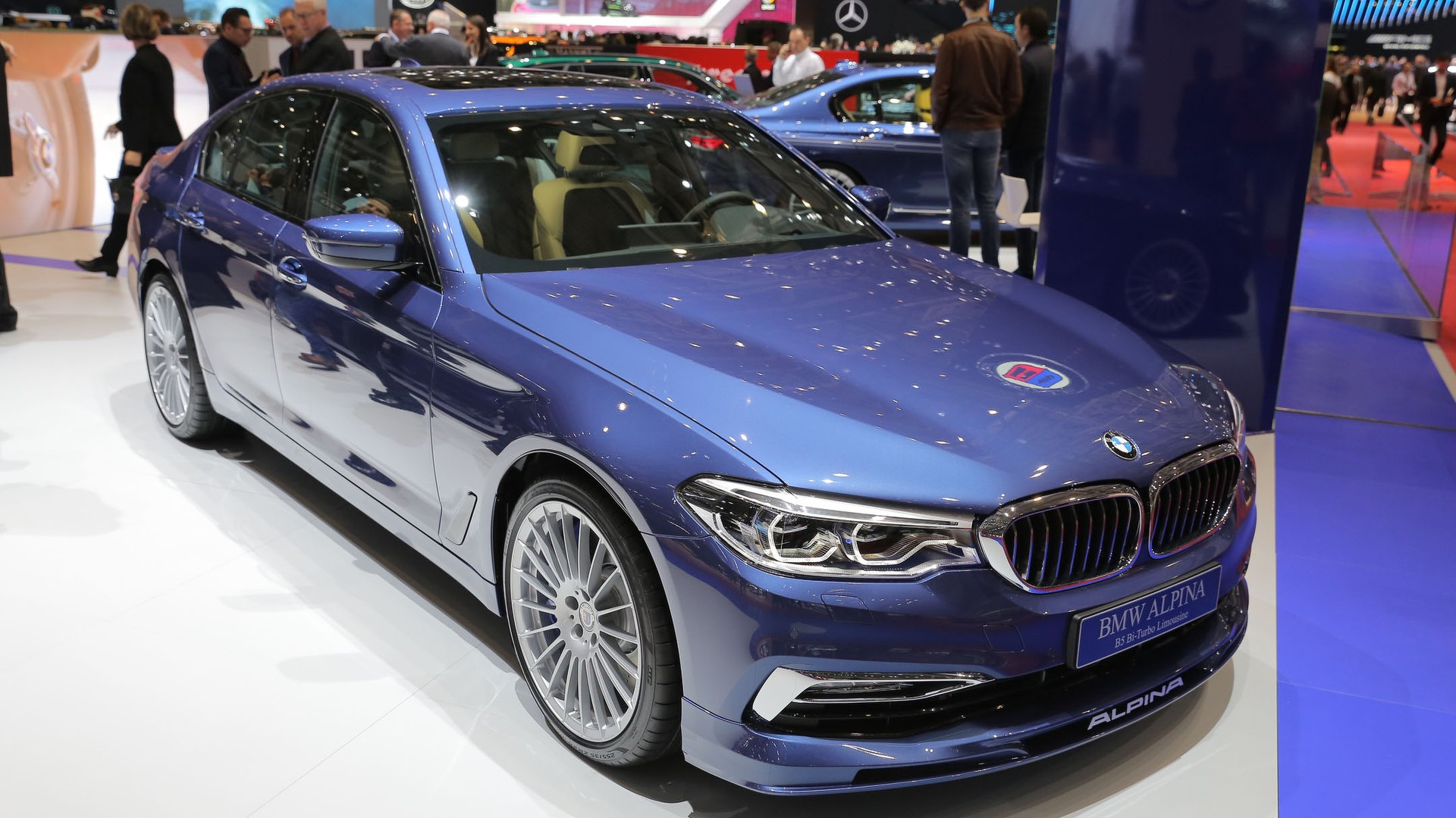 Alpina B BiTurbo Blends Elegance With Power In Geneva - Bmw b5 alpina for sale