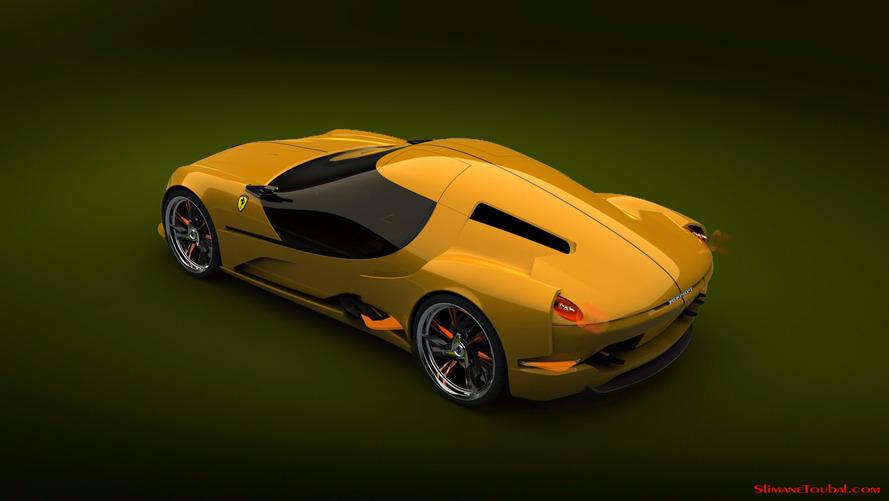 Ferrari 250 Concept par Slimane Toubal
