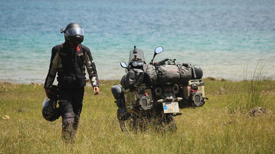 Around Gaia, una aventura de 150.000 kilómetros con maletas GIVI