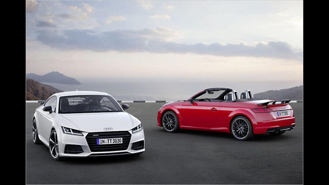 Audi TT als S line competition