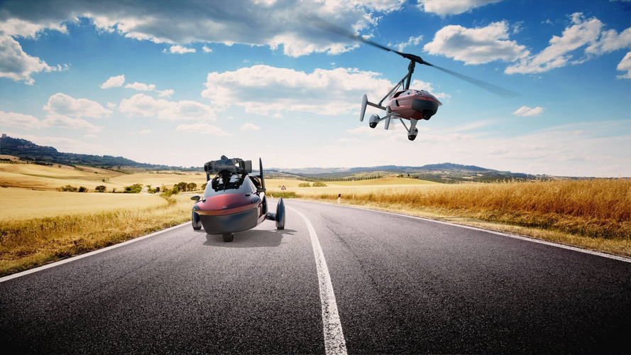 """World First"" Production Flying Car Landing At Geneva Motor Show"