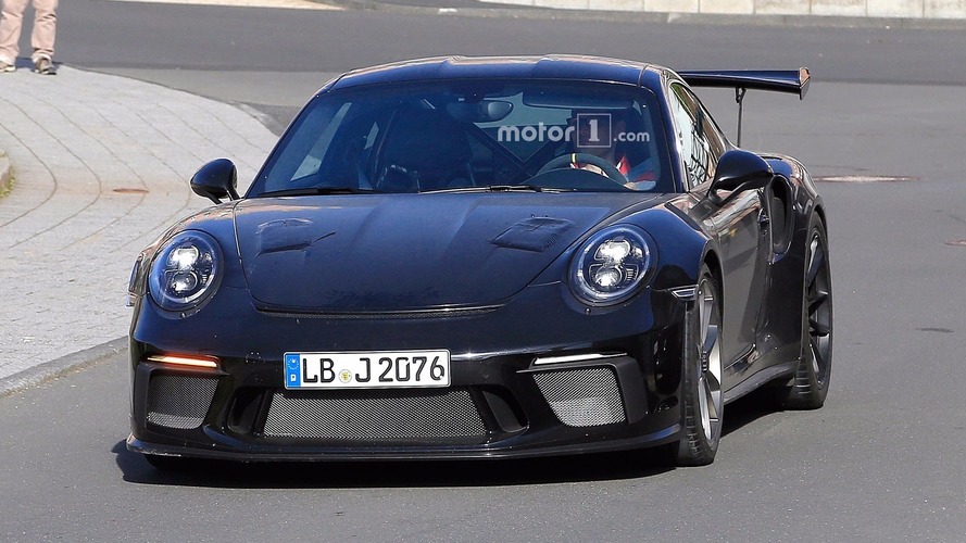 Photos espion Porsche 911 GT3 RS restylée