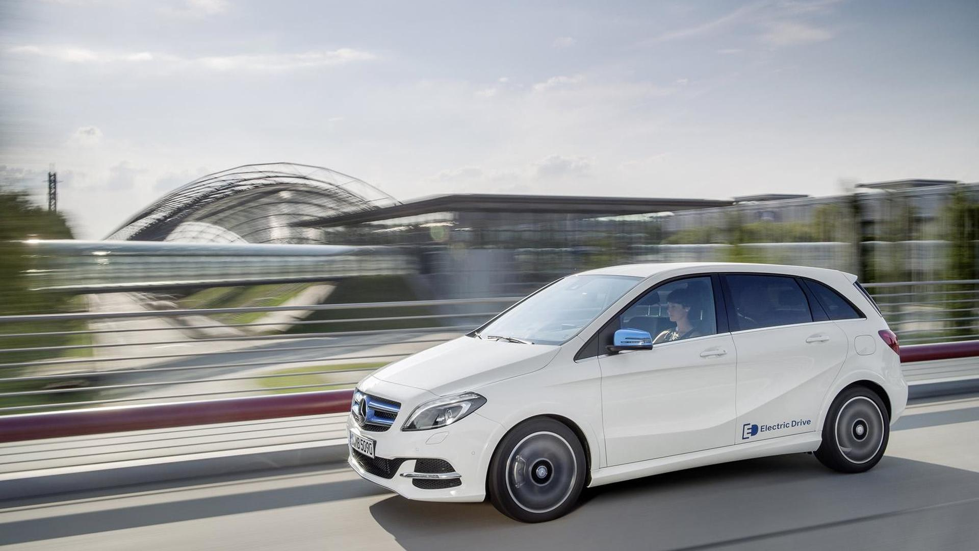Mercedes B Class Electric >> Mercedes Benz B Class Electric Drive News And Reviews
