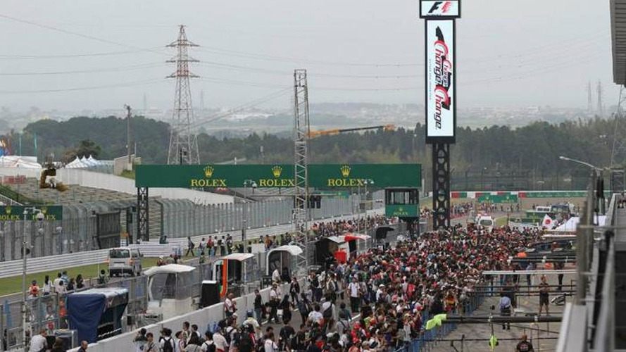F1 eyes earlier Japan GP to dodge typhoon