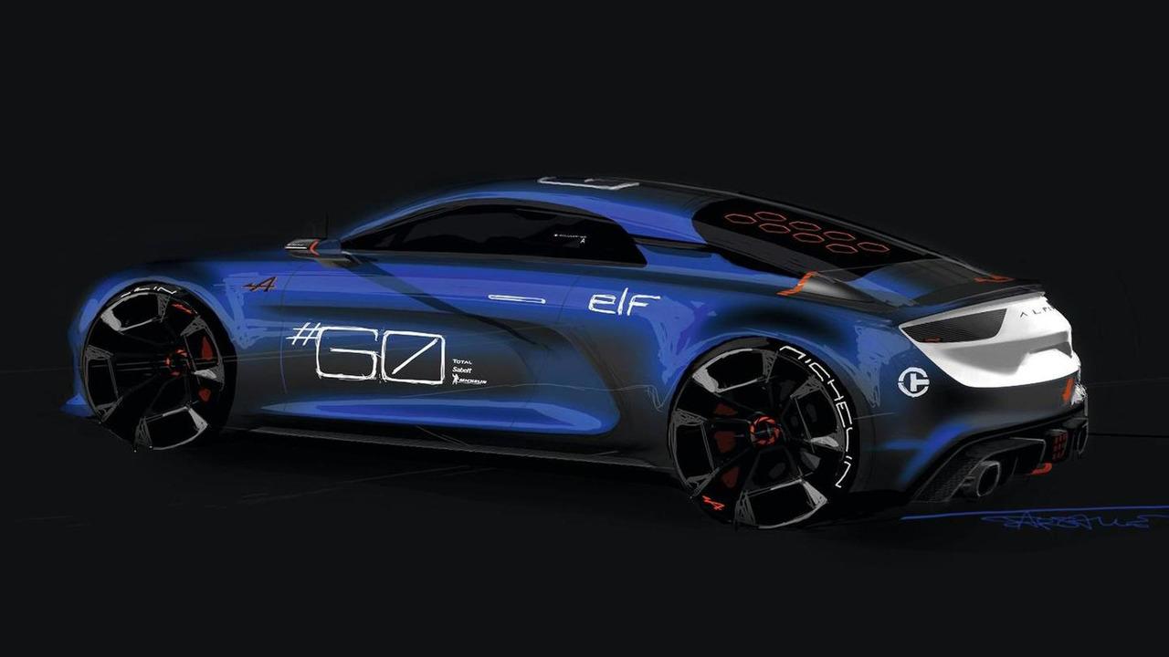 Renault Alpine Celebration konsepti