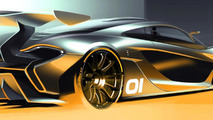 2015 McLaren P1 GTR official render 1800