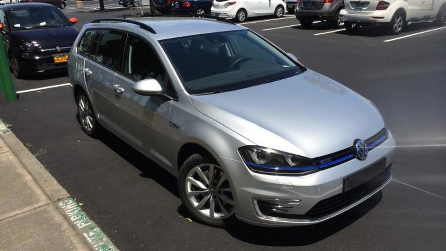 Unreleased Volkswagen Golf GTE Variant spotted in United States