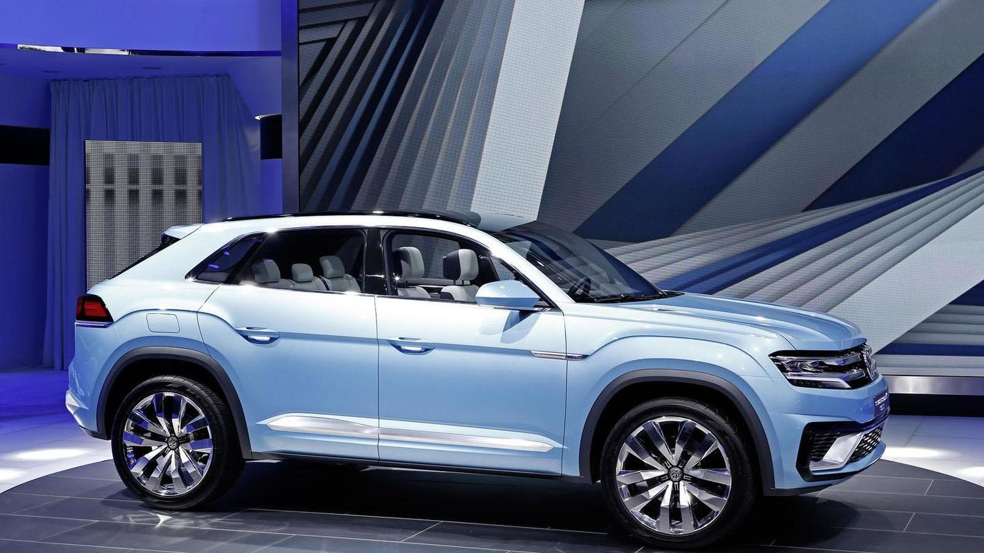 Volkswagen Cross Coupe Gte Concept Unveiled