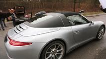 2014 Porsche 911 Targa spy photo 23.12.2013