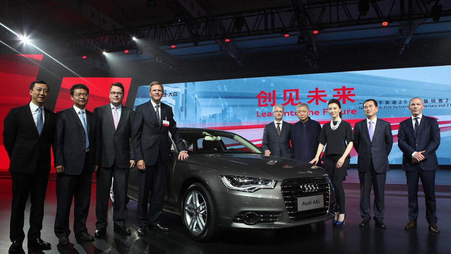 Audi to develop a plug-in hybrid for China