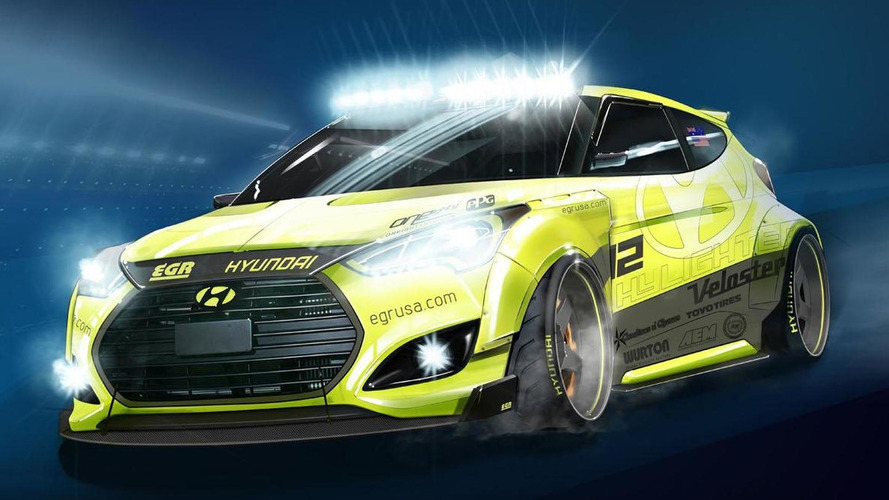 Hyundai Yellowcake Veloster Turbo announced for SEMA