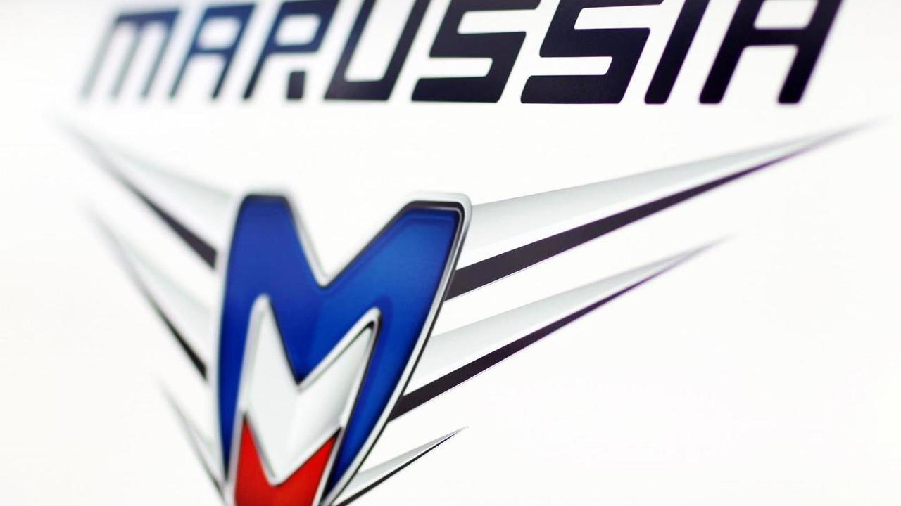 Marussia F1 Team logo 29.01.2014 Jerez Spain
