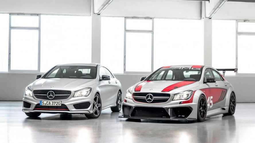 Mercedes-Benz CLA 45 AMG Racing Series and CLA 250 Sports 04.09.2013