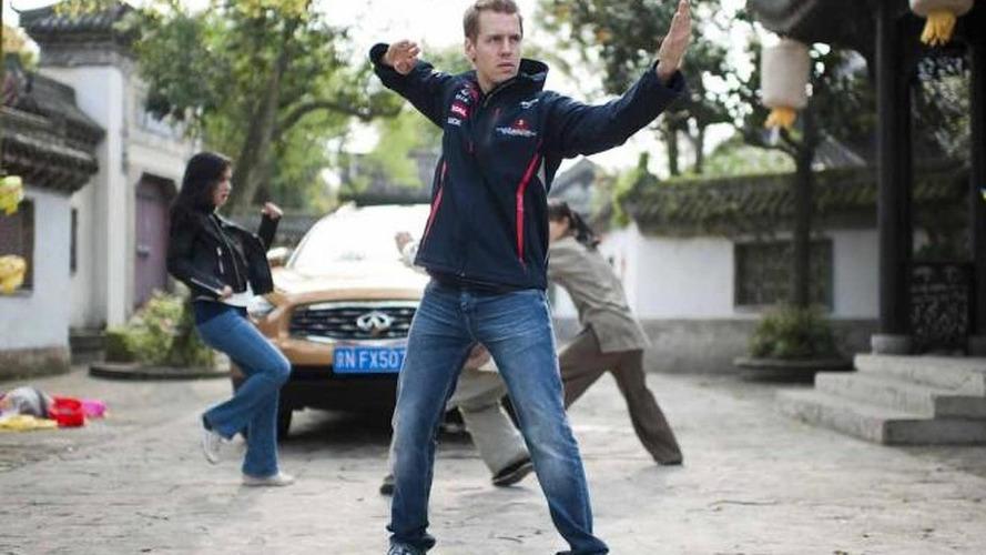 Sebastian Vettel stars in Kung Fu short film