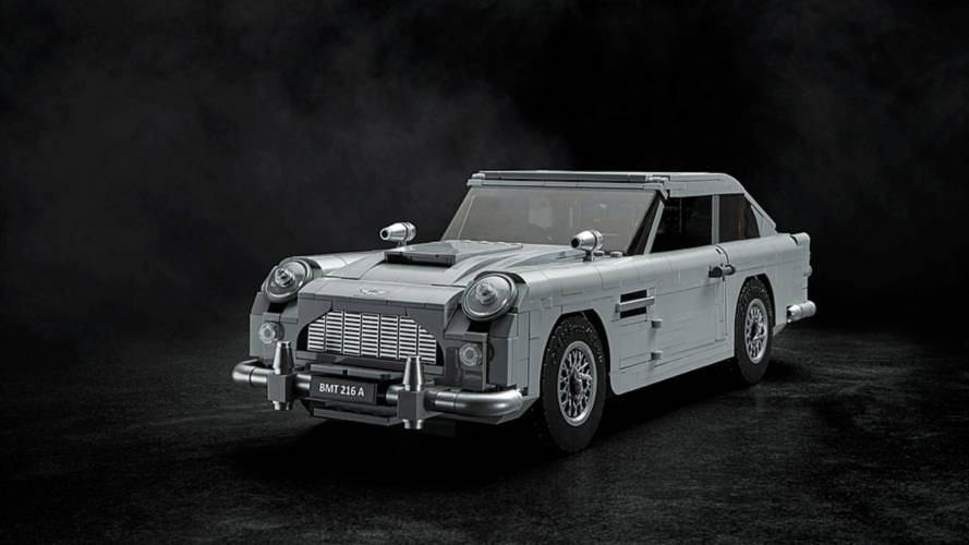 Aston Martin DB5, quella di James Bond si smonta e rimonta