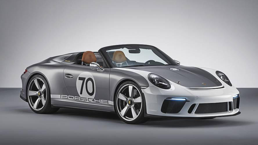 Porsche 911 Speedster Concept is the best way to go topless