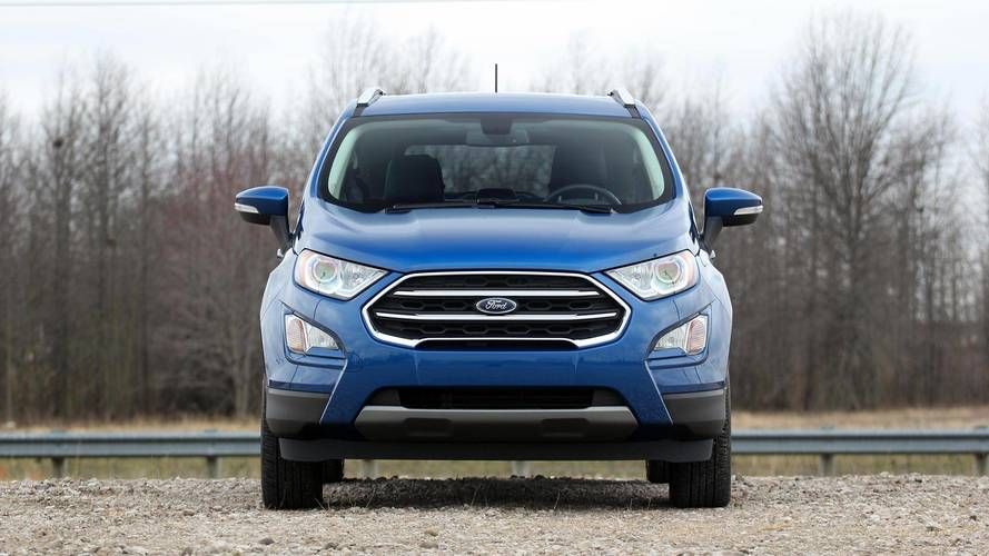 Ford EcoSport With 20% Discount Available Until Month's End