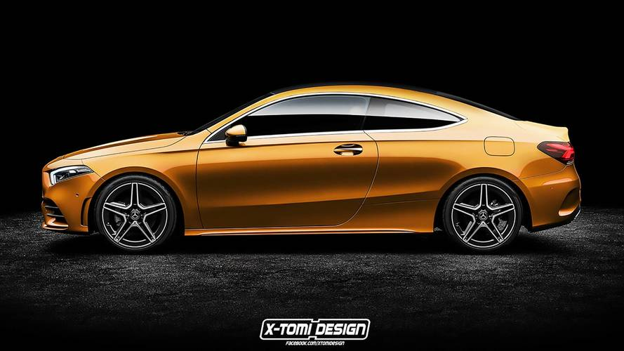 What If One Of Mercedes' Unknown Compacts Is An A-Class Coupe?