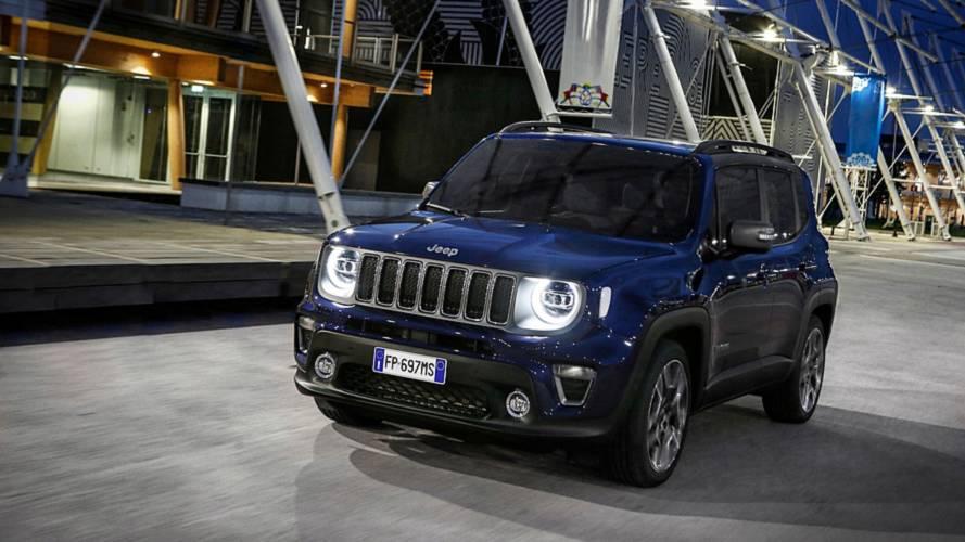 FCA prepara produção do Jeep Renegade híbrido na Europa