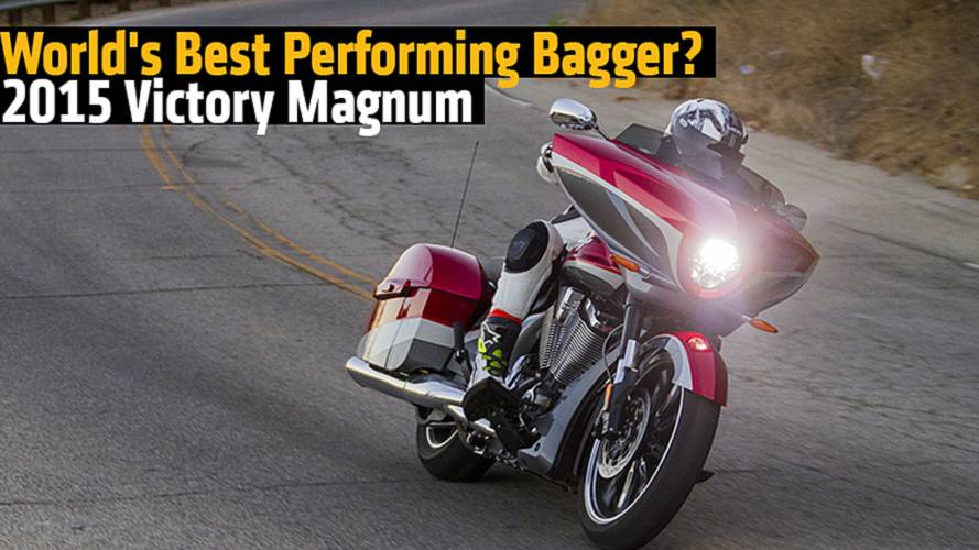 World's Best Performing Bagger? 2015 Victory Magnum Review