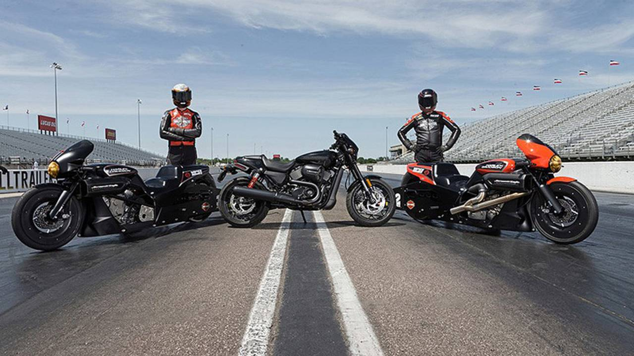Harley, Vance and Hines Build Street Rod Dragster