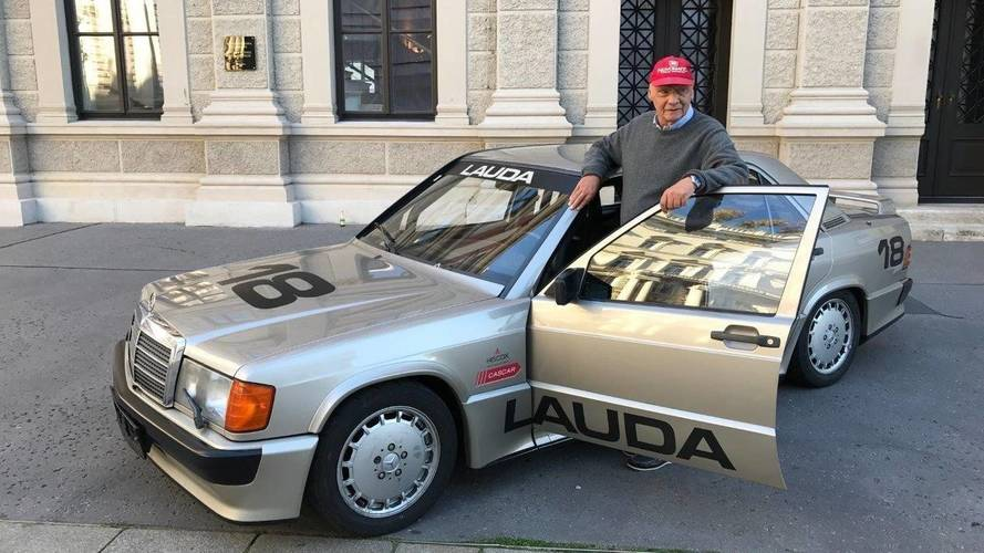 You Can Buy Niki Lauda's Nürburgring Mercedes Cosworth