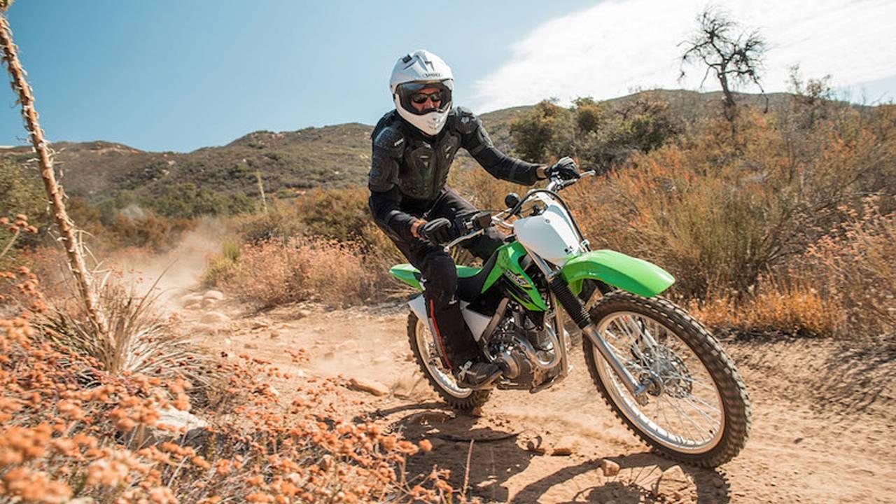 2017 Kawasaki KLX140G –First Ride