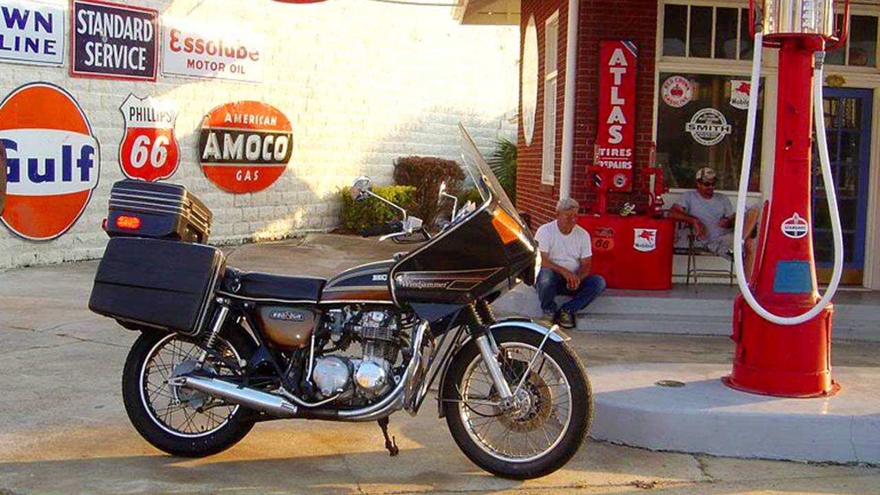 Making it to Mexico: Crossing the Border on Four Vintage Honda 550s, Part. 1