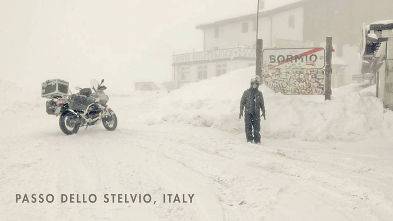 Around The World By Moto Guzzi Stelvio