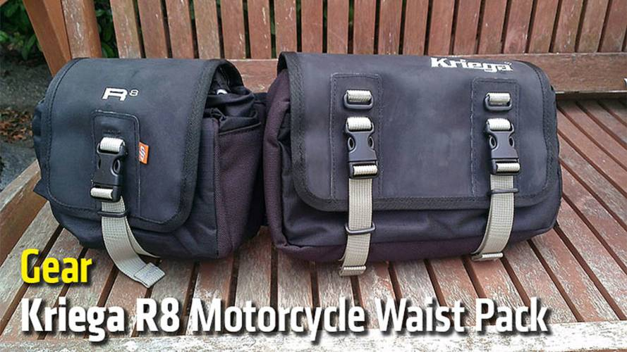 Gear: Kriega R8 Motorcycle Waistpack - Review