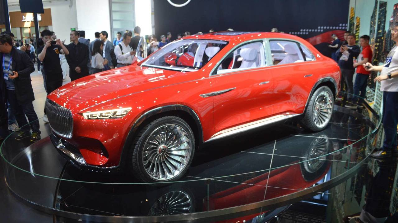 vision mercedes maybach ultimate luxury concept motor1