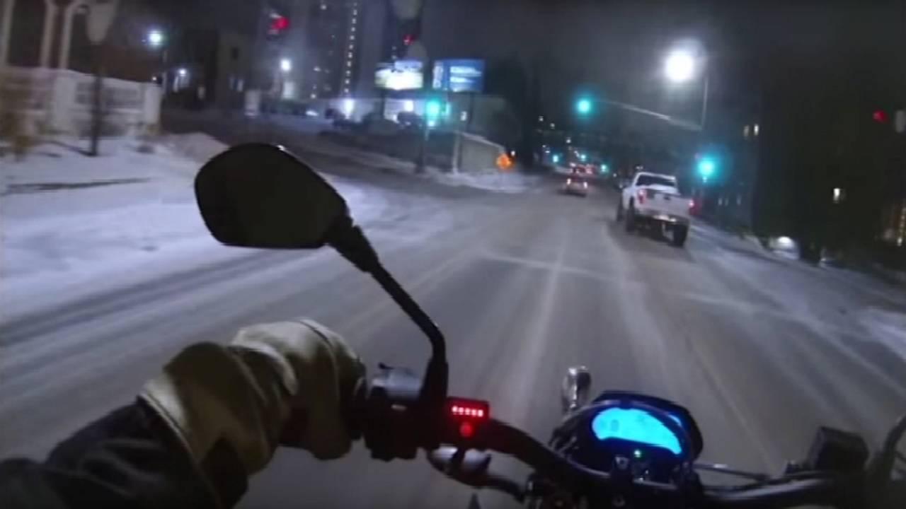 Zero Below Zero — The Fair Weather Rider Finally Takes Her Turn! - Reposted