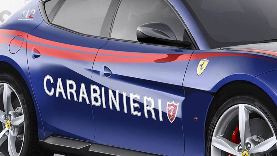 Ferrari SUV Carabinieri