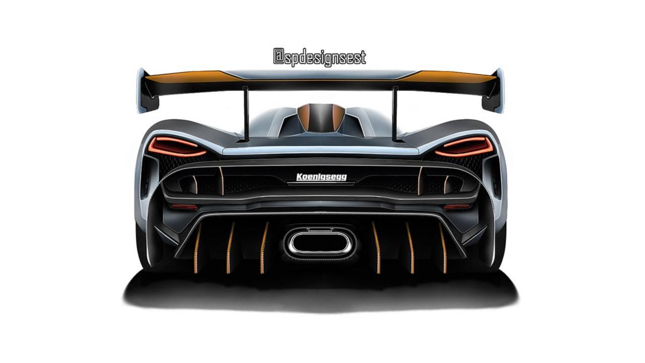 Render del sustituto del Koenigsegg Agera RS